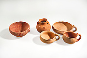 Canaanite terracotta bowls and jugs 3rd millennium BCE