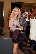 LYDIA FORTE, Vogue: Fashion's Night Out: Armani. Bond st.  London. 8 September 2010.  -DO NOT ARCHIVE-© Copyright Photograph by Dafydd Jones. 248 Clapham Rd. London SW9 0PZ. Tel 0207 820 0771. www.dafjones.com.