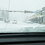 Jackson, Wyoming getting bombarded with a massive winter storm.