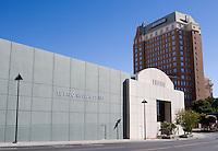 El Paso Museum of Art, downtown El Paso, Texas.