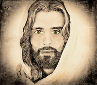 """""""A Million Faces of Jesus by Dino Carbetta – Mist""""…<br /> <br /> Since early childhood, my fascination with the face of Christ resulted in a multitude of sketches, drawings, and photographs. Today, my mind's eye continues this perception in wonderment. I yearn to see, feel, and touch this beatific vision. Blessed with humble skills, this is my current vision after three years of introspection and change of the face of Christ. I know that in heaven the just will see God by direct intuition, clearly and distinctly. Scripture and theology tell us that the blessed see God face to face. And because this vision is immediate and direct, it is also exceedingly clear and distinct. Battle against Evil: Finally, draw your strength from the Lord and from his mighty power. Put on the armor of God so that you may be able to stand firm against the tactics of the devil. For our struggle is not with flesh and blood but with the principalities, with the powers, with the world rulers of this present darkness, with the evil spirits in the heavens. Therefore, put on the armor of God, that you may be able to resist on the evil day and, having done everything, to hold your ground. So stand fast with your loins girded in truth, clothed with righteousness as a breastplate, and your feet shod in readiness for the gospel of peace. In all circumstances, hold faith as a shield, to quench all [the] flaming arrows of the evil one. And take the helmet of salvation and the sword of the Spirit, which is the word of God.  EPHESIANS, 6:10-17   Thank you for your prayers!"""