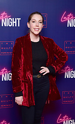 Katherine Ryan attending the Late Night event in association with The Guilty Feminist at Picturehouse Central, London.