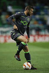 December 13, 2018 - Lisbon, Portugal - Stefan Ristovski of Sporting  in action during UEFA Europa League football match between Sporting CP vs Vorskla, in Lisbon, on December 13, 2018. (Credit Image: © Carlos Palma/NurPhoto via ZUMA Press)