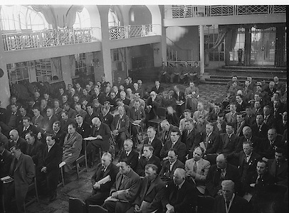 Annual Congress at the Gresham Hotel in Dublin..21.04.1957  21st April 1957