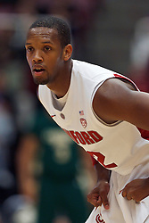 Nov 15, 2011; Stanford CA, USA;  Stanford Cardinal guard Jarrett Mann (22) during the first half of a preseason NIT game against the Colorado State Rams at Maples Pavilion. Stanford defeated Colorado State 64-52. Mandatory Credit: Jason O. Watson-US PRESSWIRE