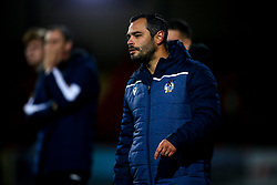 Bristol Rovers manager Tom Parrinello - Mandatory by-line: Robbie Stephenson/JMP - 29/10/2019 - FOOTBALL - County Ground - Swindon, England - Swindon Town v Bristol Rovers - FA Youth Cup Round One