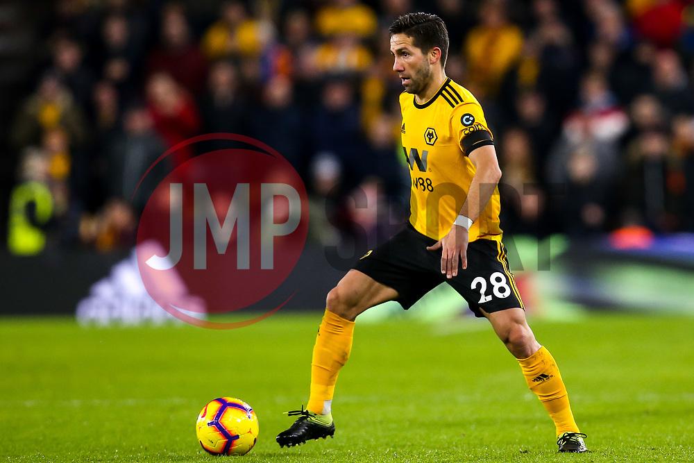 Joao Moutinho of Wolverhampton Wanderers - Mandatory by-line: Robbie Stephenson/JMP - 11/02/2019 - FOOTBALL - Molineux - Wolverhampton, England - Wolverhampton Wanderers v Newcastle United - Premier League