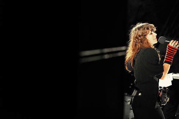 Nederland, Nijmegen, 4-9-2011Zangeres Ellen ten Damme tijdens een live optreden.Foto: Flip Franssen/Hollandse Hoogte