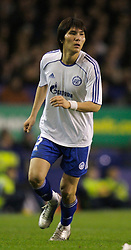 Liverpool, England - Wednesday, December 5, 2007: Zenit St. Petersburg's Kim Dong Jin in action against Everton during the UEFA Cup Group A match at Goodison Park. (Photo by David Rawcliffe/Propaganda)