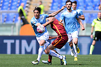 Alessandro Matri Lazio, Kostas Manolas Roma <br /> Roma 03-04-2016 Stadio Olimpico Football Calcio Serie A 2015/2016 Lazio - AS Roma Foto Andrea Staccioli / Insidefoto