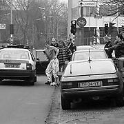 Minclerstraat Fam.van Dijk schietpartij geweest + arrestatie George van Dijk na moord Petra Landman