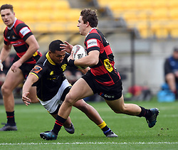 Canterbury's Josh McKay against Wellington in the Mitre 10 Rugby match at Westpac Stadium, Wellington, New Zealand, Sunday September 17,, 2017. Credit:SNPA / Ross Setford  **NO ARCHIVING**