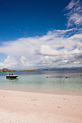 Beach on the Komodo archipelago Alila Purnama.