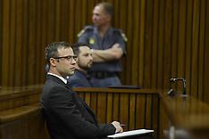 OCT 14 2014 Oscar Pistorius Sentencing