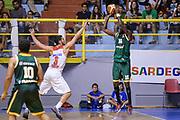 DESCRIZIONE : 5&deg; International Tournament City of Cagliari Olympiacos Piraeus Pireo - Limoges CSP<br /> GIOCATORE : Colo Nobel Boungou<br /> CATEGORIA : Tiro Tre Punti Three Point Controcampo Ritardo<br /> SQUADRA : Limoges CSP<br /> EVENTO : 5&deg; International Tournament City of Cagliari<br /> GARA : Olympiacos Piraeus Pireo - Limoges CSP Torneo Citt&agrave; di Cagliari<br /> DATA : 19/09/2015<br /> SPORT : Pallacanestro <br /> AUTORE : Agenzia Ciamillo-Castoria/L.Canu