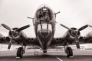 Aluminum Overcast at McNary Field.