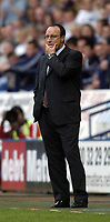 Photo. Jed Wee.<br /> Bolton Wanderers v Liverpool, Barclays Premiership, 29/08/2004.<br /> Liverpool manager Rafael Benitez wonders where his team have gone wrong<br /> NORWAY ONLY