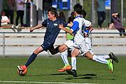 08.04.17; Zuerich; Fussball FCZ Academy - Grasshopper Club - Zuerich FE14 Oberland; <br /> Noris Elia (Zuerich) <br /> (Andy Mueller/freshfocus)