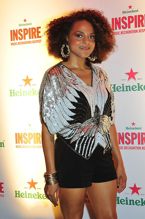 PHILADELPHIA - JULY 17:  Singer Marsha Ambrosius at the Heineken Inspire Philadelphia event at Theater of the Living Arts on July 17, 2010 in Philadelphia, Pennsylvania.  (Photo by Lisa Lake/WireImage for Epiphany Media)