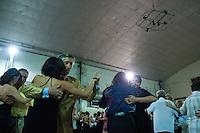 Tango Dancers in the Milonga Club Sunderland, La Milonga del Mundo, Villa Urquiza, Buenos Aires, Argentina Image by Andres Morya