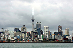 NEW ZEALAND AUCKLAND 19DEC07 - General view of Auckland skyline from the sea approach...jre/Photo by Jiri Rezac..© Jiri Rezac 2007..Contact: +44 (0) 7050 110 417.Mobile:  +44 (0) 7801 337 683.Office:  +44 (0) 20 8968 9635..Email:   jiri@jirirezac.com.Web:    www.jirirezac.com..© All images Jiri Rezac 2007 - All rights reserved.