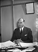 1955 Mr Eades, General Manager F M Summerfield