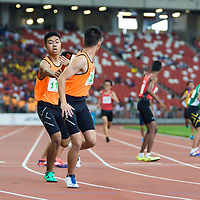 C Div Boys 4x400m