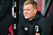 AFC Bournemouth Manager Eddie Howe*** during the Pre-Season Friendly match between Bournemouth and SS Lazio at the Vitality Stadium, Bournemouth, England on 2 August 2019.