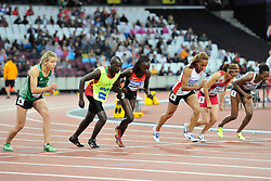 14/07/2017 : Greta Streimikyte, T13, 1500m (Women's) Final, at the 2017 World Para Athletics Championships, Olympic Stadium, London, United Kingdom