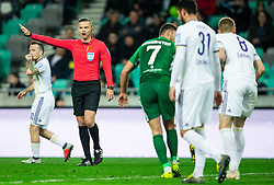 Damir Skomina, referee during Football match between NK Olimpija and NK Maribor in 23rd Round of Prva liga Telekom Slovenije 2018/19 on March 16, 2019, in SRC Stozice, Ljubljana, Slovenia. Photo by Vid Ponikvar / Sportida