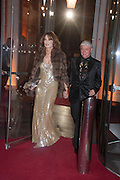 VALERIE COOPER; HARRIS COOPER, Hollywood Costume gala dinner, V and A. London. 16 October 2012