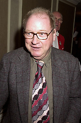 LORD McALPINE OF WEST GREEN at a luncheon in London on 18th October 2000.<br /> OHZ 57