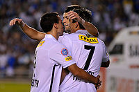 20100224: BELO HORIZONTE, BRAZIL - Cruzeiro vs Colo Colo: Copa Libertadores 2010. In picture: Colo Colo players celebrating goal. PHOTO: CITYFILES