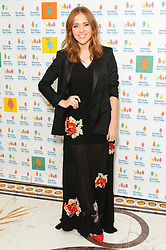 © Licensed to London News Pictures. 01/10/2016. ANGELA SCANLON attends the annual Shooting Stars CHASE fundraising ball.  London, UK. Photo credit: Ray Tang/LNP