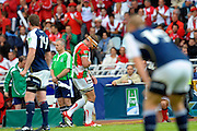 Rugby: Biarritz / Munster - 1/2Finale H Cup - 02.05.2010 - sortie sur blessure d Imanol Harinordoquy