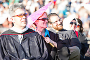 The Cal Hills faculty looks on as the Class of 2012 receives their diplomas at graduation on June 15, 2012, held at Milpitas High School, Milpitas, Calif.  Photo by Stan Olszewski/SOSKIphoto.