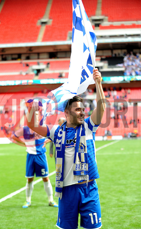 Bristol Rovers' Jake Gosling- Photo mandatory by-line: Neil Brookman/JMP - Mobile: 07966 386802 - 17/05/2015 - SPORT - football - London - Wembley Stadium - Bristol Rovers v Grimsby Town - Vanarama Conference Football