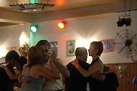 Tango Dancers in the Milonga Glorias Argentinas, Buenos Aires, Argentina Image by Andres Morya