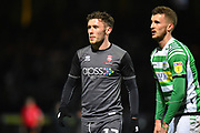 Shay McCartan (17) of Lincoln City during the EFL Sky Bet League 2 match between Yeovil Town and Lincoln City at Huish Park, Yeovil, England on 22 January 2019.