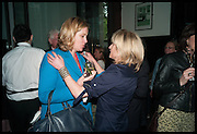 AMBER RUDD; RACHEL JOHNSON, Launch of Rachel Kelly's memoir 'Black Rainbow' about recovering from depression with the help of poetry published by Hodder & Stoughton , ( Author proceeds will be given to the charities SANE and United Response ). Cafe of the National Gallery.  London. 7 May 2014