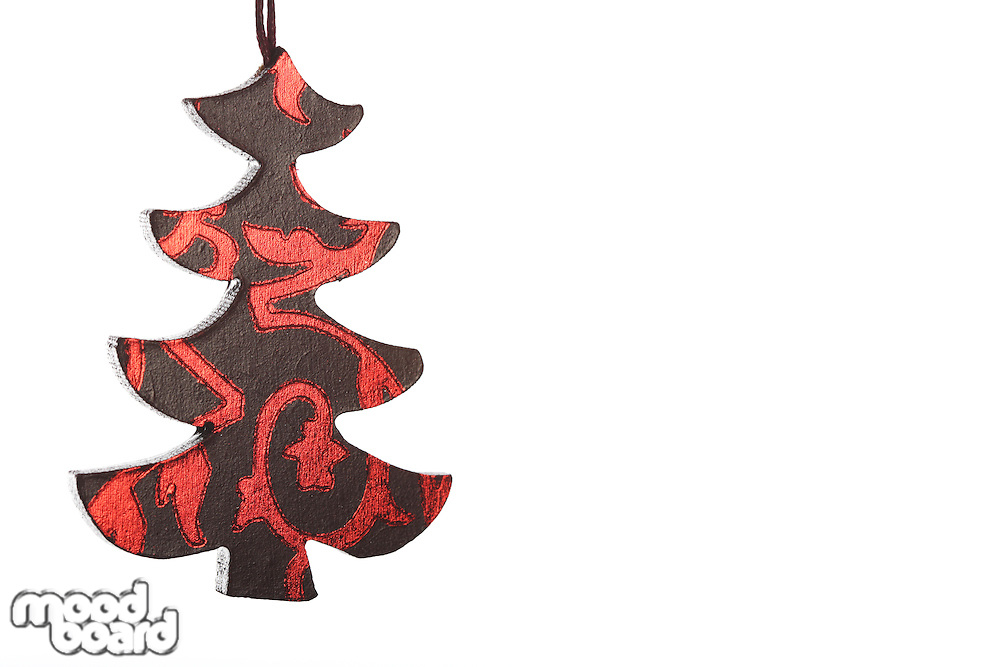 Christmass Ornament on white background