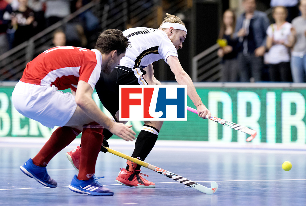 BERLIN - Indoor Hockey World Cup<br /> Final: Germany - Austria<br /> foto: Christopher R&uuml;hr.<br /> WORLDSPORTPICS COPYRIGHT FRANK UIJLENBROEK