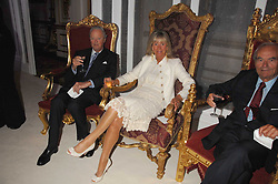 The DUKE OF MARLBOROUGH and  at a party to celebrate the launch of the 'Inde Mysterieuse' jewellery collection held at Lancaster House, London SW1 on 19th September 2007.<br /><br />NON EXCLUSIVE - WORLD RIGHTS