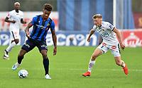 Fotball , 31. august 2019 , Eliteserien , Stabæk - Strømsgodset 2-1 , <br /> <br /> Sammy Skytte  , Stabæk<br />  Jonathan Parr , SIF