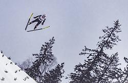 16.03.2019, Vikersundbakken, Vikersund, NOR, FIS Weltcup Skisprung, Raw Air, Vikersund, Teambewerb, im Bild Daniel Huber (AUT) // Daniel Huber of Austria during the team competition of the 4th Stage of the Raw Air Series of FIS Ski Jumping World Cup at the Vikersundbakken in Vikersund, Norway on 2019/03/16. EXPA Pictures © 2019, PhotoCredit: EXPA/ JFK