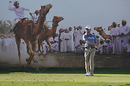 David Drysdale (SCO) on the 8th during Round 2 of the Oman Open 2020 at the Al Mouj Golf Club, Muscat, Oman . 28/02/2020<br /> Picture: Golffile   Thos Caffrey<br /> <br /> <br /> All photo usage must carry mandatory copyright credit (© Golffile   Thos Caffrey)