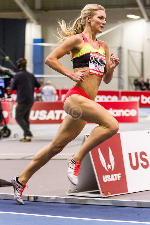 New Balance Indoor Grand Prix Track & FIeld:   Women's 2000 meters, Emma Coburn, USA