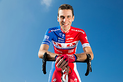 Radoslav Rogina of Cycling Team Adria Mobil poses for a portrait session ahead of the 2014 road season on February 25, 2014 in Cesca vas at Novo mesto, Slovenia. Photo by Vid Ponikvar / Sportida