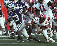 Kansas State runningback Darren Sproles during game action against Western Kentucky at KSU Stadium in Manhattan, Kansas in 2002.