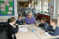 Marilyn Harrop, Deputy Headteacher, Ryhope Junior School Sunderland....© Martin Jenkinson, tel 0114 258 6808 mobile 07831 189363 email martin@pressphotos.co.uk. Copyright Designs & Patents Act 1988, moral rights asserted credit required. No part of this photo to be stored, reproduced, manipulated or transmitted to third parties by any means without prior written permission